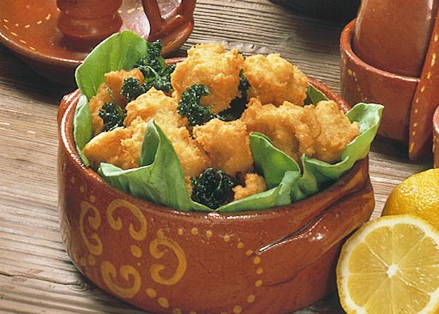 レシピ:鱈(たら)とマッシュポテトの揚げ物